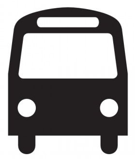 12 City Bus Icon Images