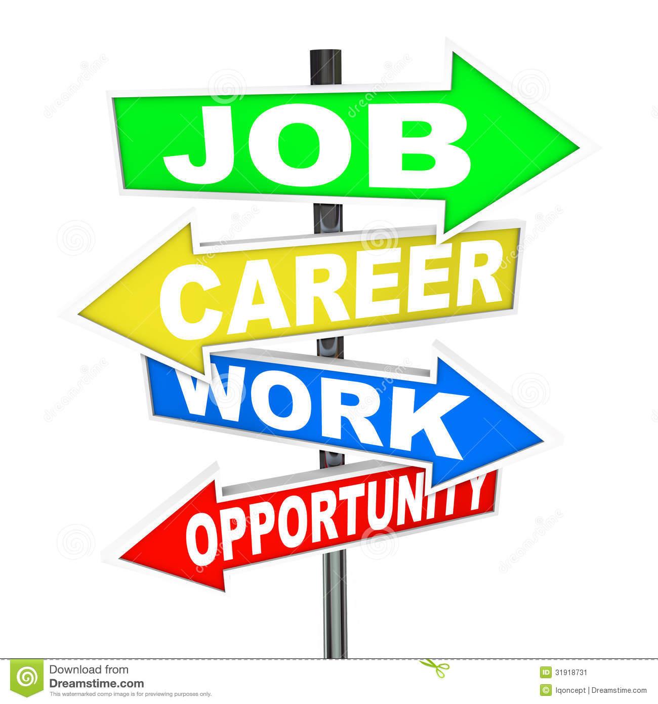 Career Opportunity Clip Art