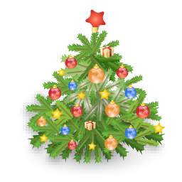 11 Small Christmas Tree Icon Images