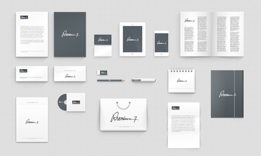 Corporate Identity PSD Templates