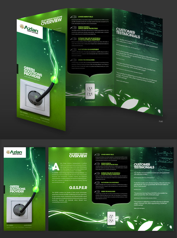 11 Tri-Fold Brochure Design Ideas Images