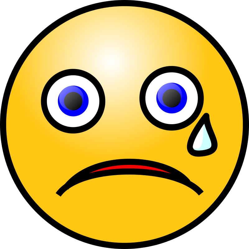Crying Smiley Face Clip Art