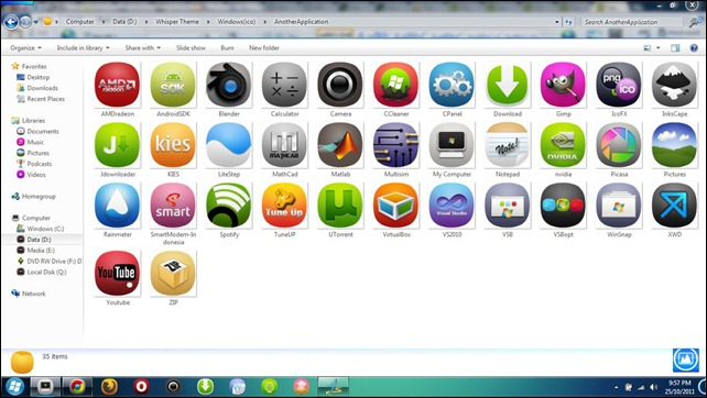 Custom Icons Windows 8 Profile