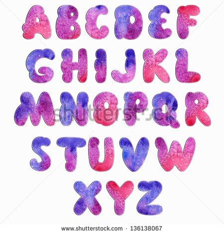 Decorative Letter Fonts Alphabet
