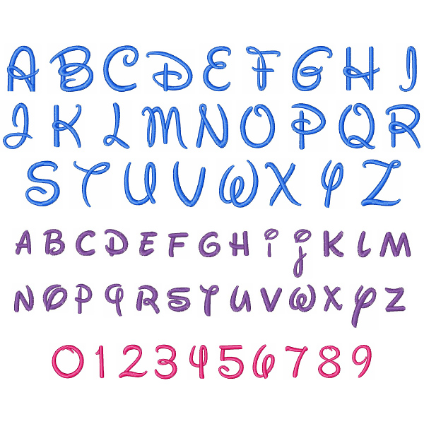 12 Free Disney Font Printables Images