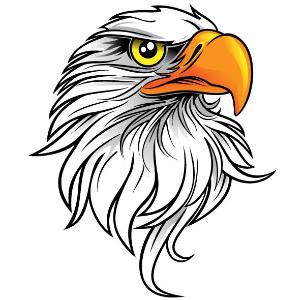 13 Eagle Vector Clip Art Images