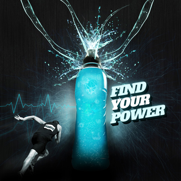 11 PSD Energy Drink Ad Images