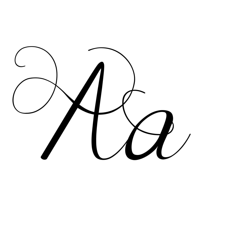 Fancy Script Tattoo Generator: 12 Swirly Font Generator Images