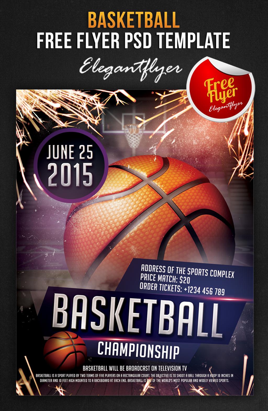 Erfreut Basketball Turnier Flyer Vorlage Fotos - Beispiel Business ...
