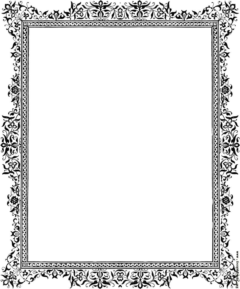 Free Border Designs Clip Art