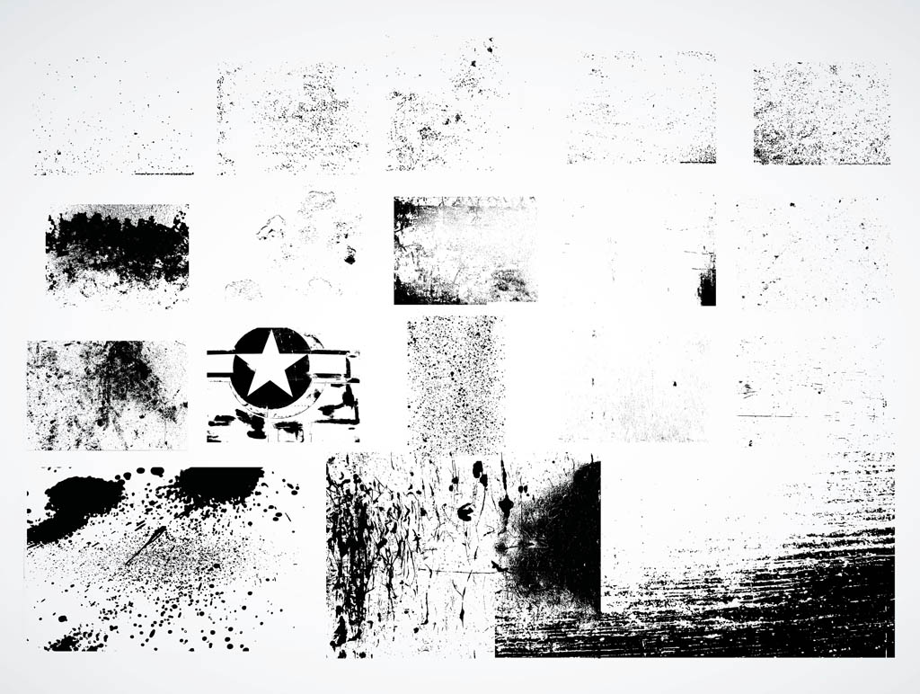 12 Free Grunge Backgrounds Vector Images