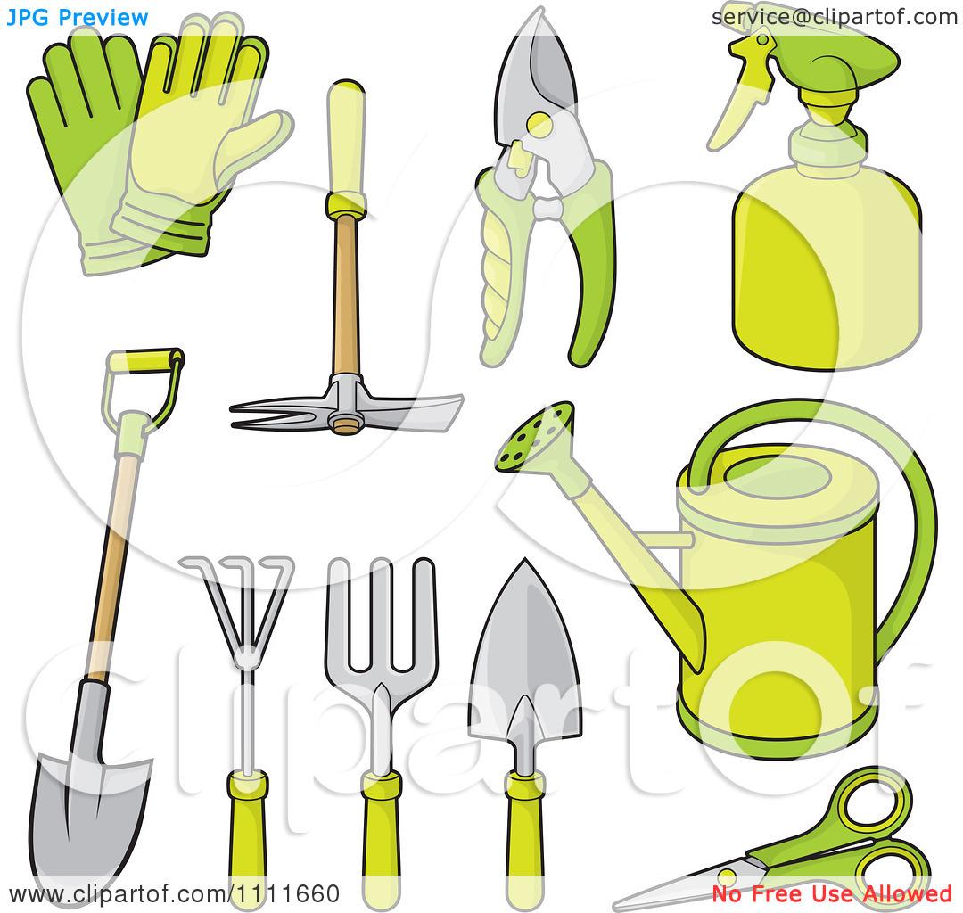 13 gardening tool vector images gardening vector tools for Gardening tools vector