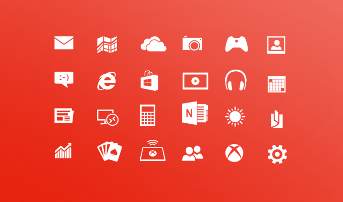 Free Windows 8 Metro Icons