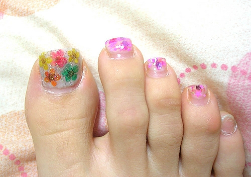 Girls Toe Nail Designs