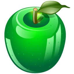 14 Green Apple Folder Icons Images