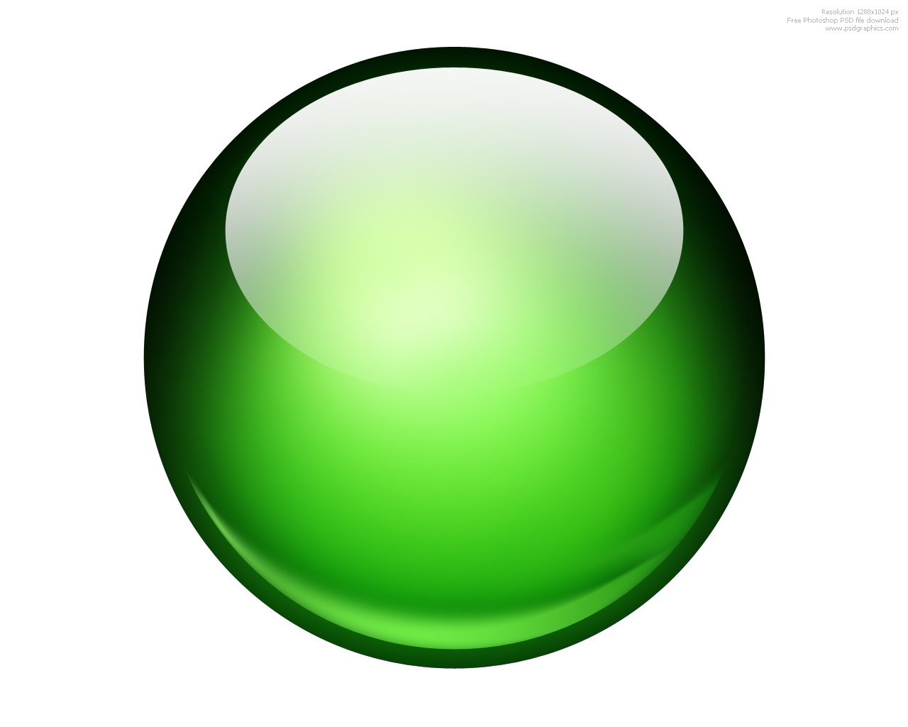 13 Green 3D Sphere Icons Images