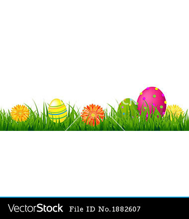 15 happy easter borders vector images happy easter