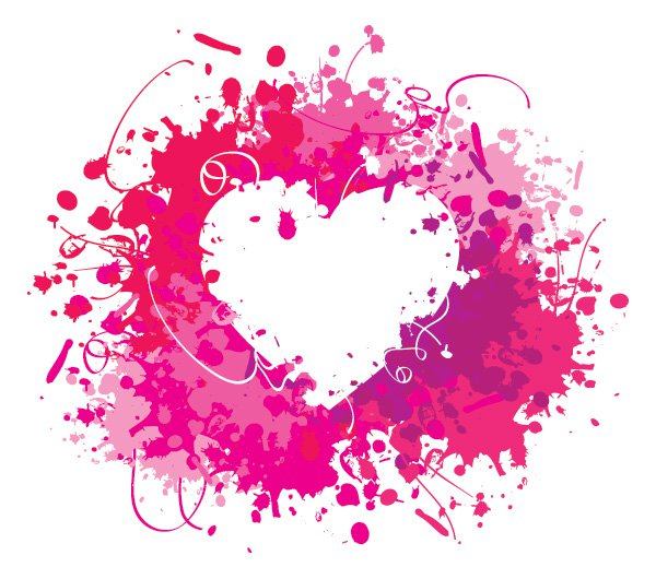 Heart Vector Graphic Art