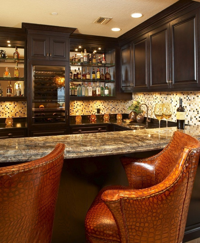 19 Home Bar Designs Images