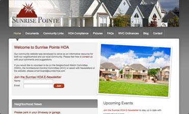 Homeowners Ociation Website Templates