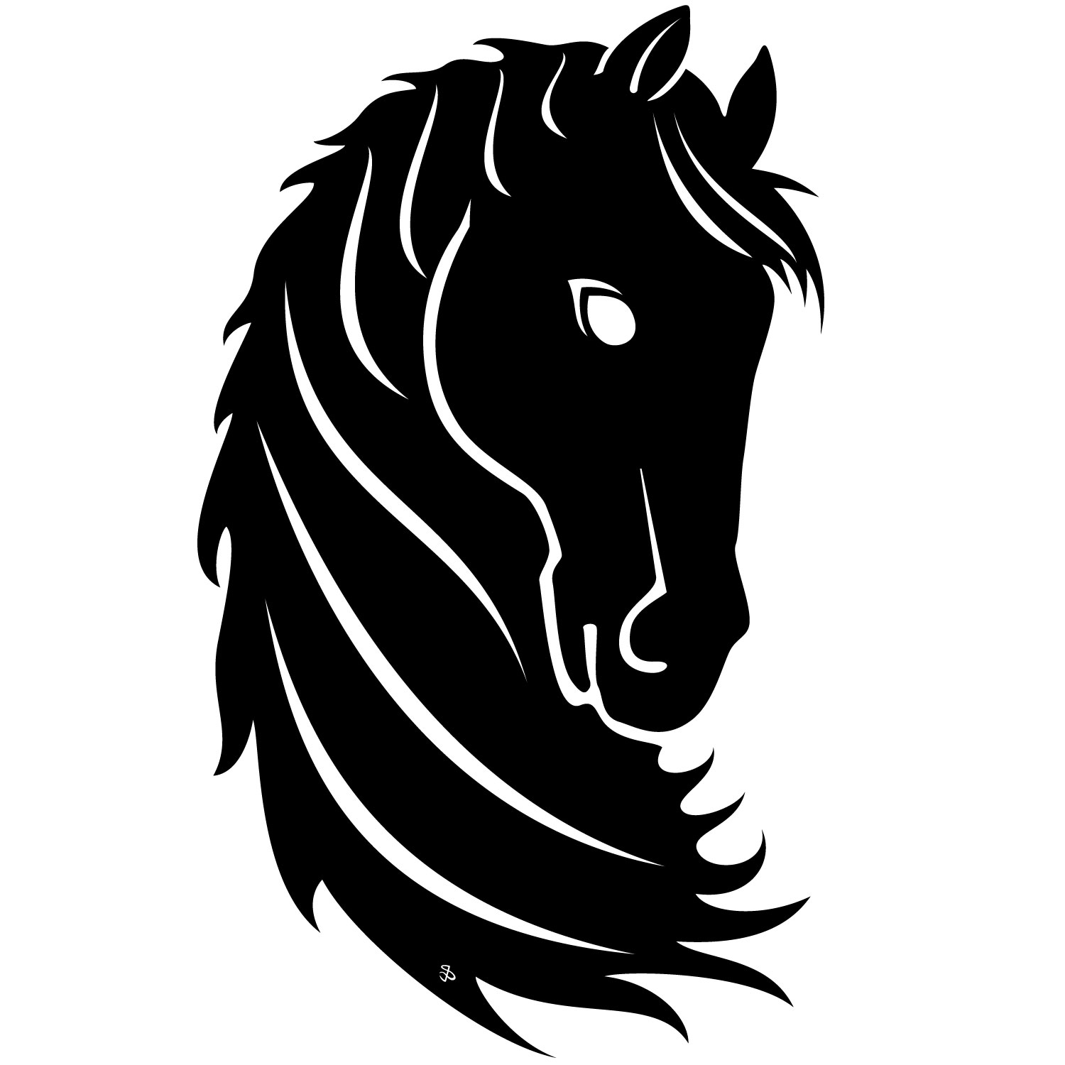 18 Horse Vector Designs Images