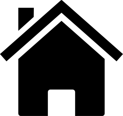 12 Black Home Icon Clip Art Images