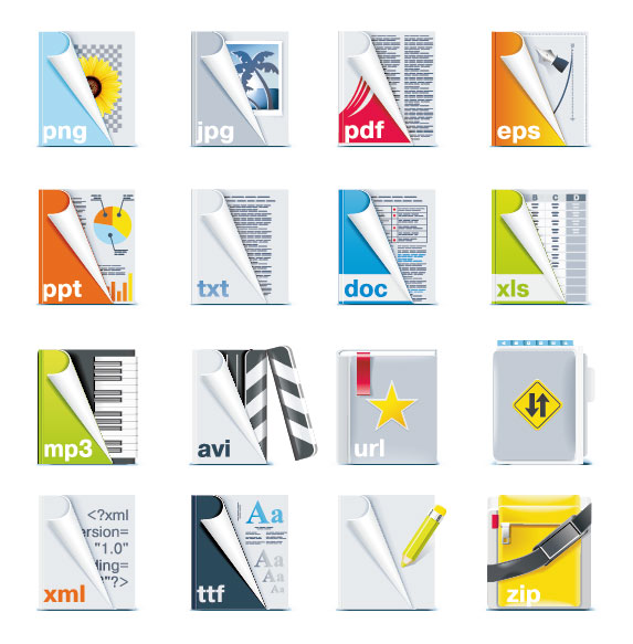 15 Vector Art File Formats Images