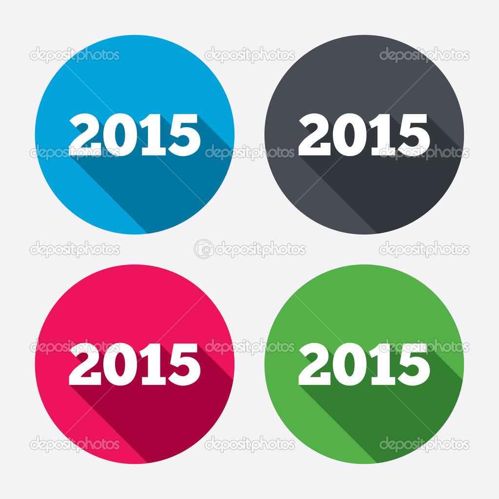 Icon Happy New Year 2015
