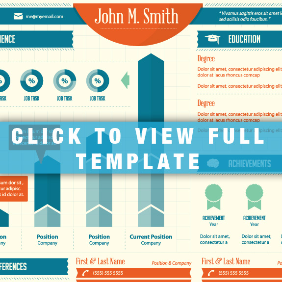 14 infographic templates for word images
