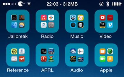 iPhone Folder Icons