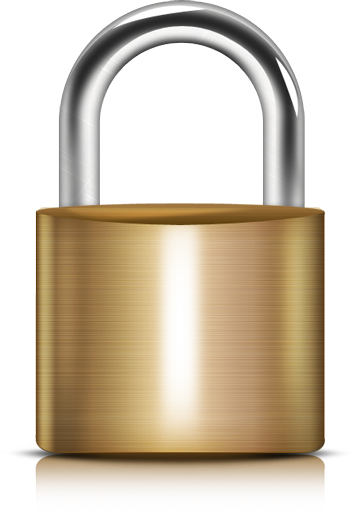 13 Black Lock Icon Transparent Background Images