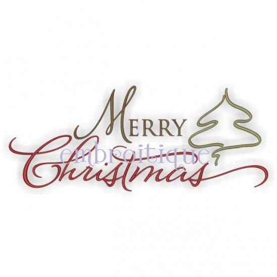 14 Christmas Script Font Images