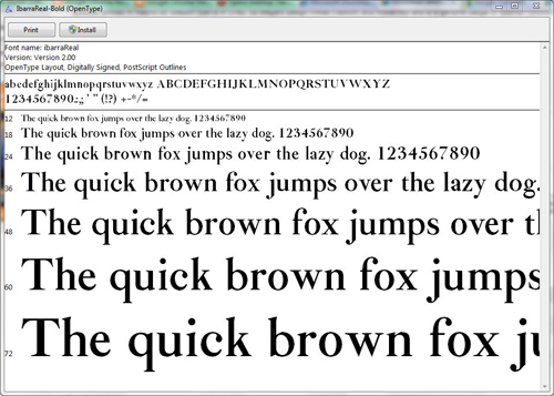 14 Free Fonts For Windows Images