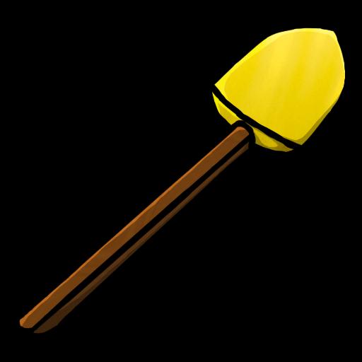 Minecraft Gold Shovel