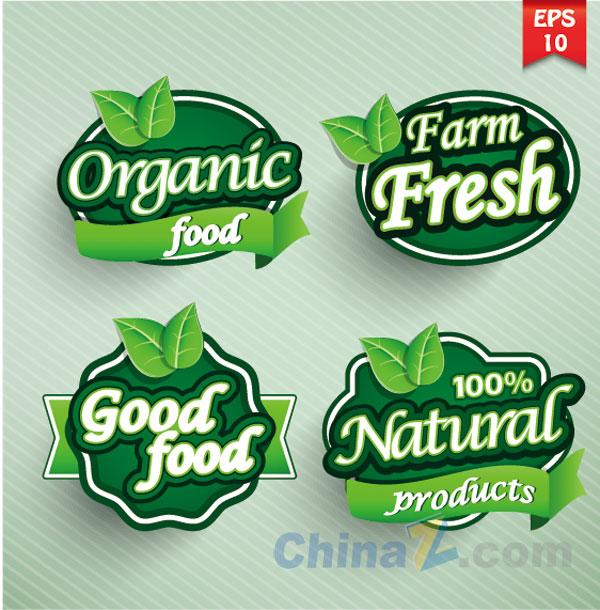 Organic Food Label Design