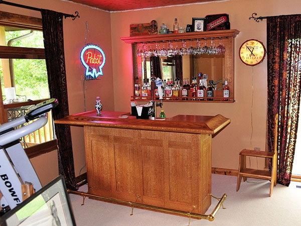 Simple Home Bar Ideas