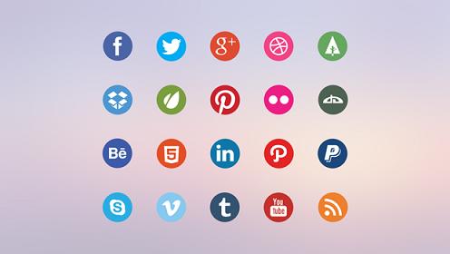 Social Media Icons Free