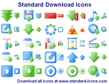 Standard Web Icons