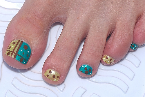 Toe Nail Polish Design Ideas