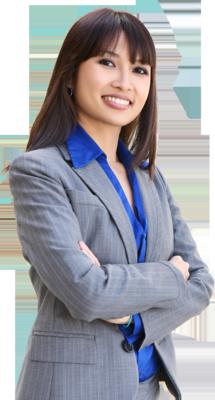 Transparent Businesswoman