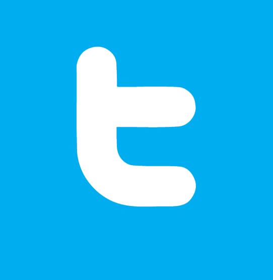 11 Flat Twitter Icon Images - Twitter Logo, Flat Twitter ...
