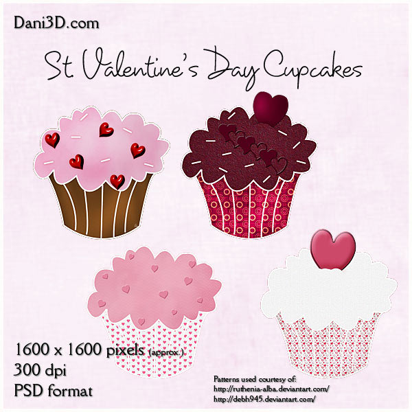 10 PSD Cup Cake Images