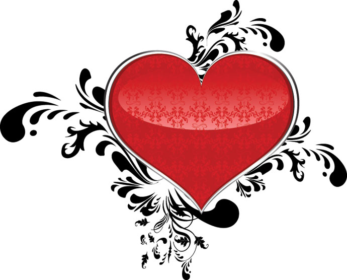 Valentine's Day Heart Design