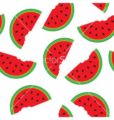 11 Watermelon Pattern Vector Images