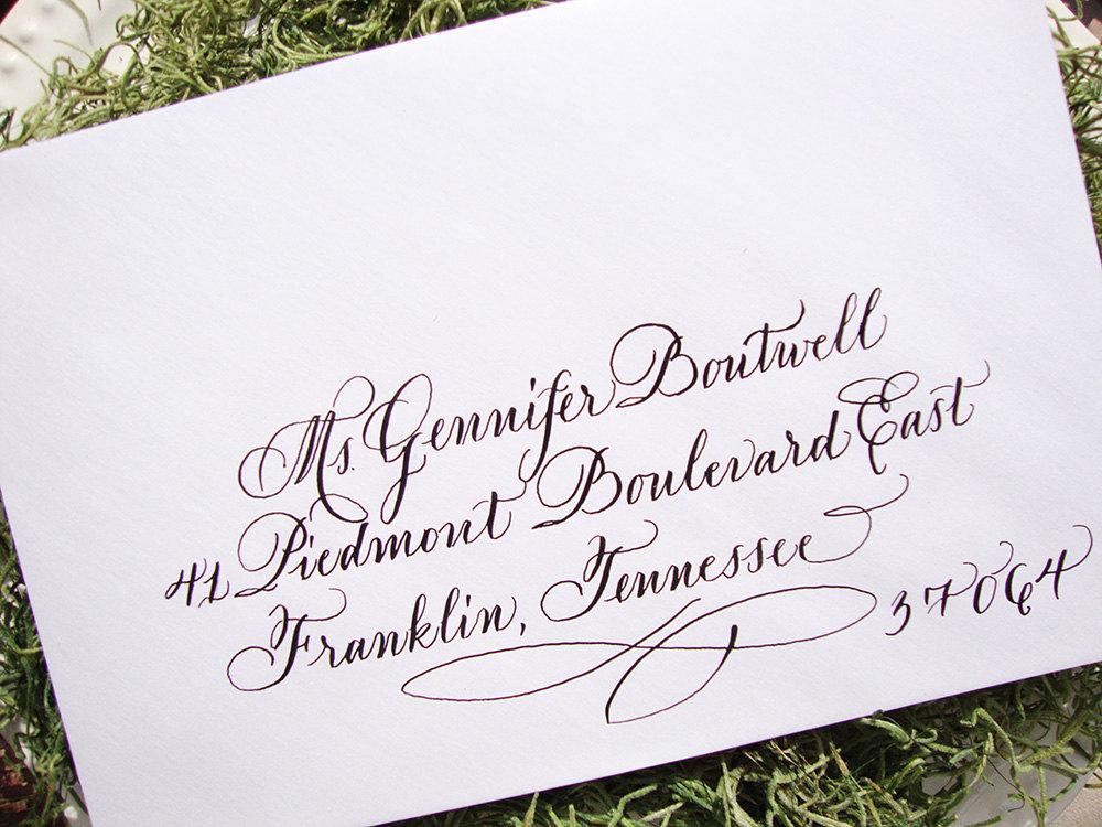 Wedding Calligraphy Alphabet Fonts