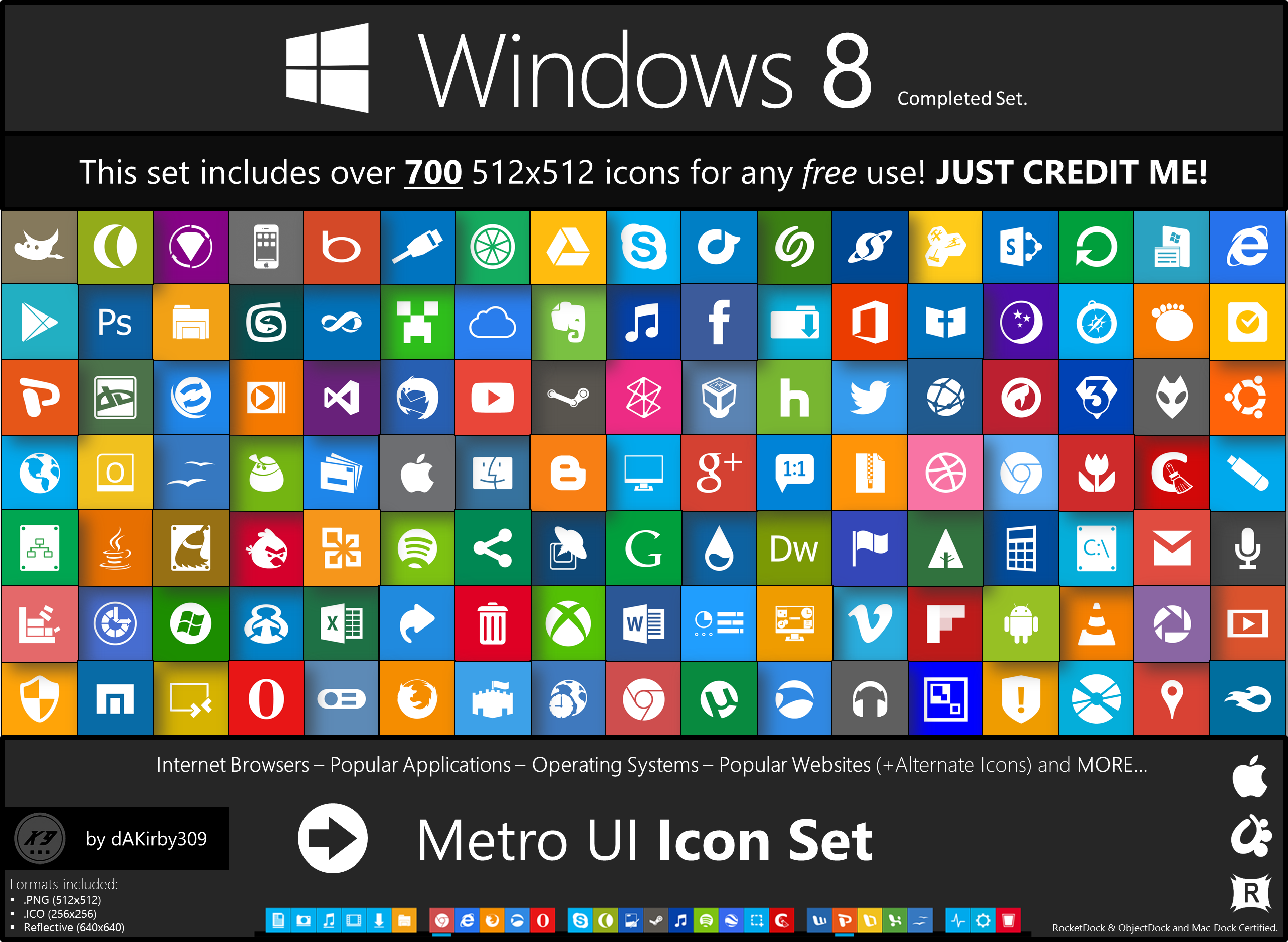 Windows 8.1 Metro Icons