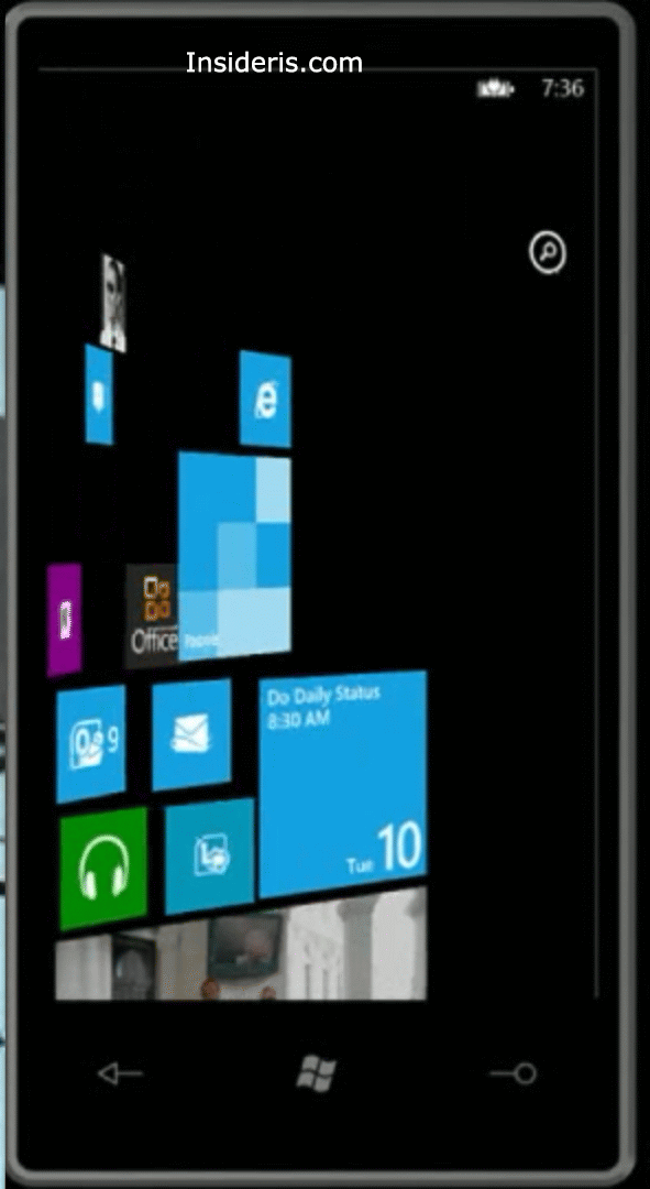 Windows Phone 8 Arrow Icon