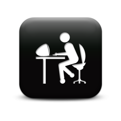 Computer Worker Icon | www.imgkid.com - The Image Kid Has It!