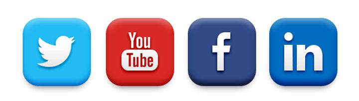 9 facebook twitter linkedin icons images facebook