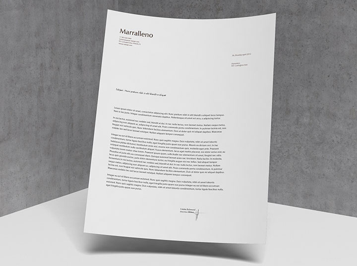 2015 Letter Head Design Inspiration